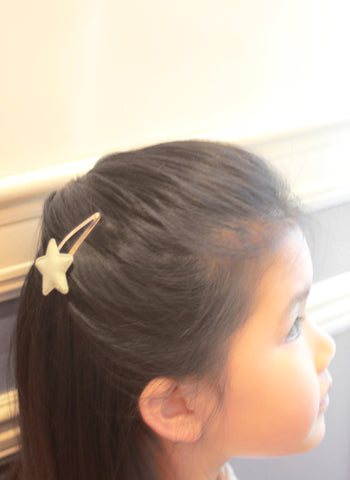 Hello Alyss Metallic Star Hair Clips