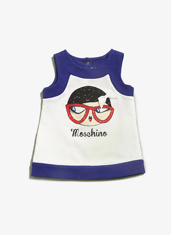 Moschino Baby Graphics Dress - MDV02D - FINAL SALE