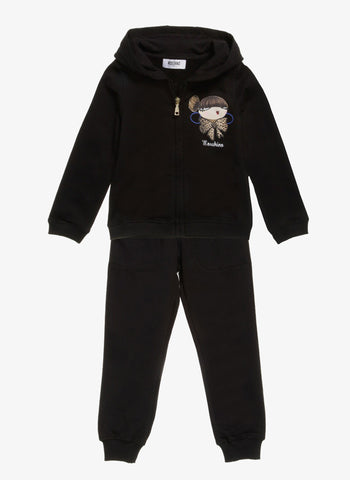 Moschino Girls Graphics Tracksuit - HDP00C -  FINAL SALE