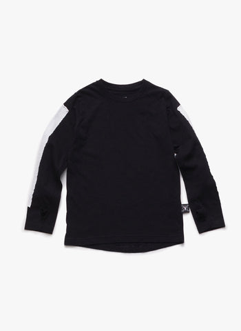 Nununu Glove Patch T-Shirt in Black - FINAL SALE