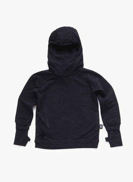 Nununu Ninja Sweatshirt in Black - FINAL SALE