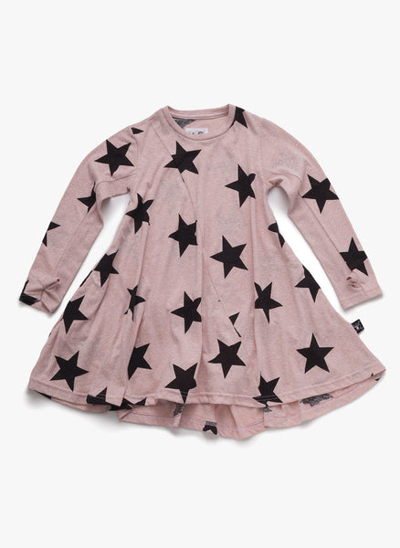 Nununu 360 Star Dress in Powder Pink - FINAL SALE