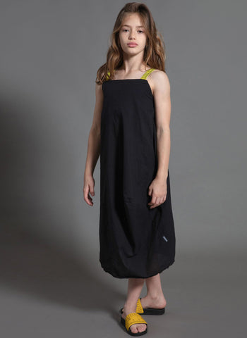Nununu Measuring Band Feather Dress - FINAL SALE
