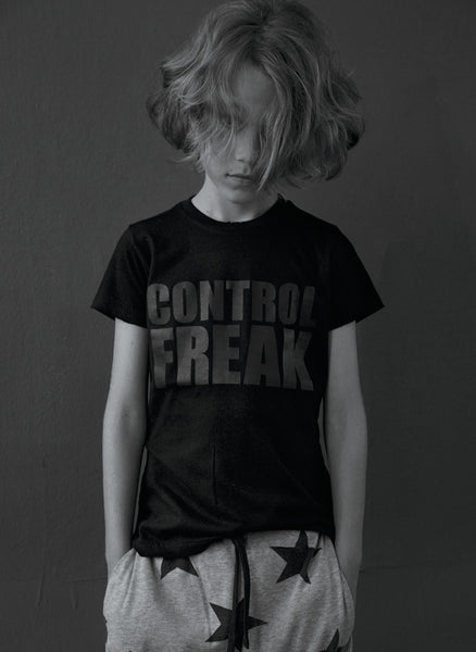 Nununu Control Freak T Shirt in Yellow - FINAL SALE