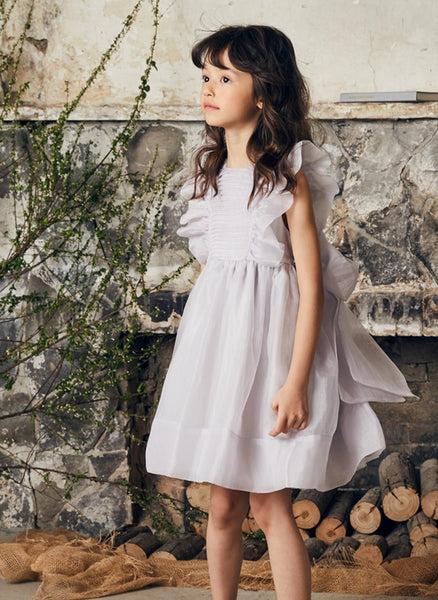 Nellystella LOVE Mae Dress in Dove Grey