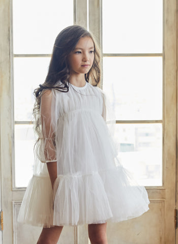 Nellystella LOVE Alice Dress in Bright White