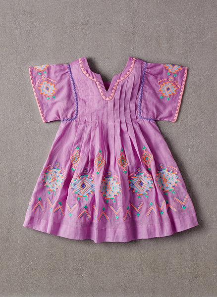 Nellystella Ava Dress in Lavender Magenta