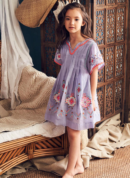 Nellystella Ava Dress in Wisteria