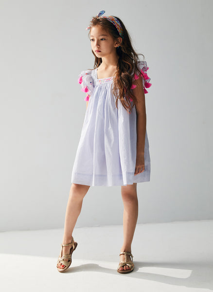 Nellystella Chloe Dress in Blue Yonder - FINAL SALE