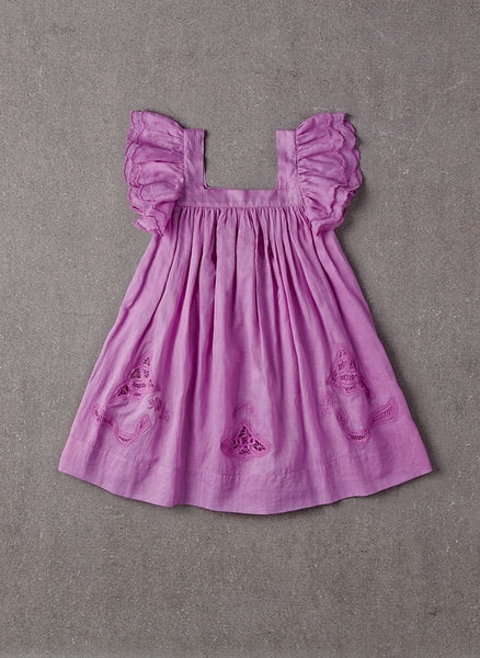 Nellystella Chloe Dress in Lavender Magenta