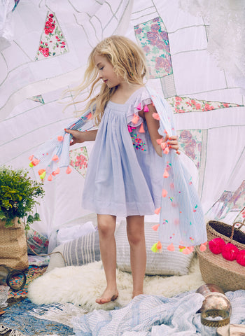 Nellystella Chloe Dress in Periwinkle