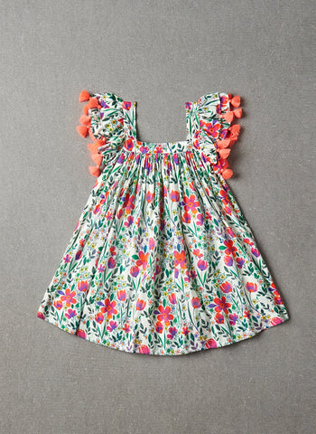 Nellystella Chloe Dress in Poppy Floral