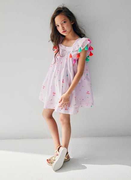 Nellystella Chloe Dress in Summer Splash