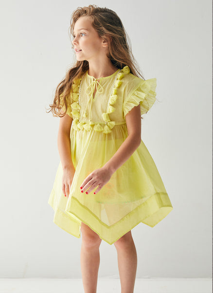 Nellystella Claire Dress in Sweet Tart - FINAL SALE