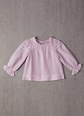 Nellystella Clara Shirt in Vintage Violet - FINAL SALE