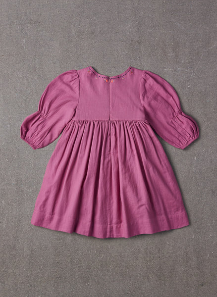 Nellystella Clover Dress in Radiant Orchid