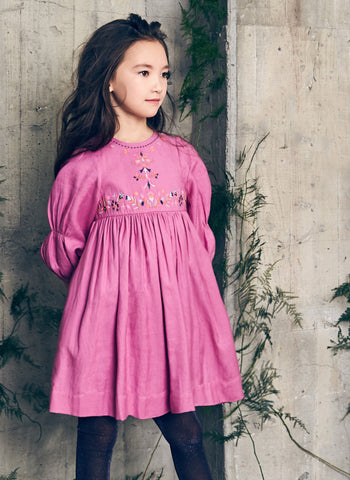 Nellystella Clover Dress in Radiant Orchid - PRE-ORDER