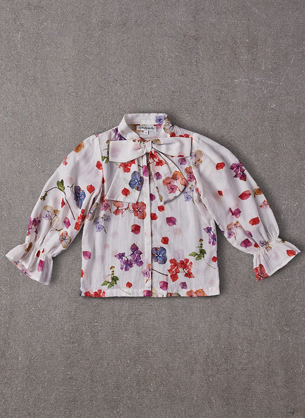 Nellystella Codelia Blouse in Petal Floral - FINAL SALE