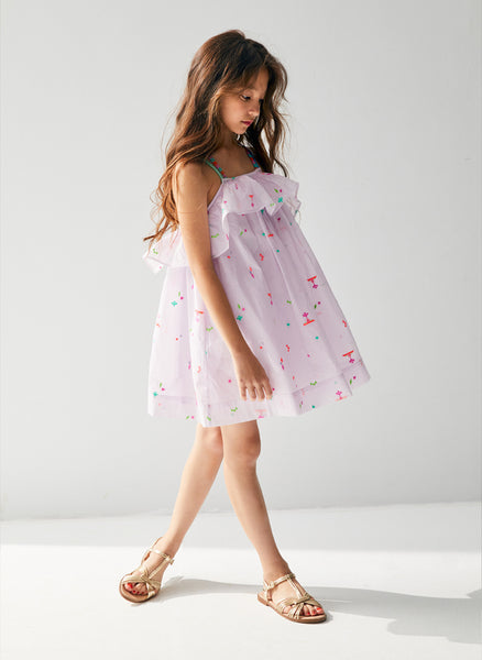 Nellystella Dahlia Dress in Summer Splash