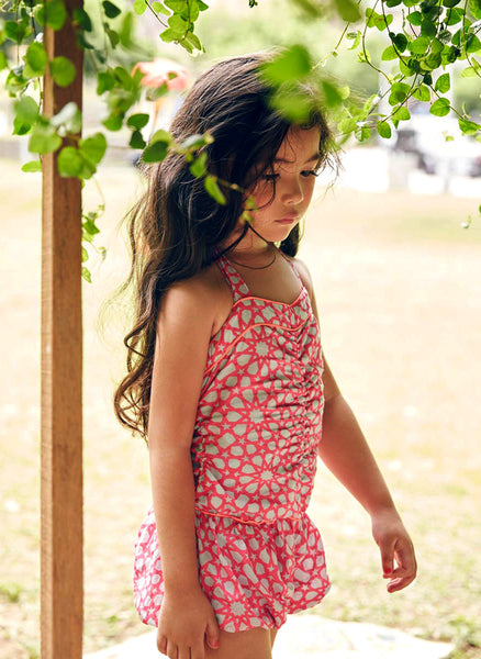 Nellystella Daniella Playsuit in Neon Star - FINAL SALE