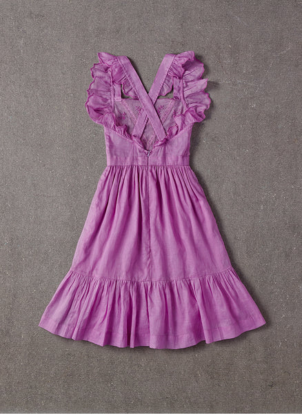 Nellystella Elina Dress in Lavender Magenta