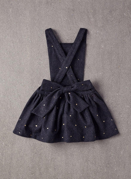 Nellystella Ella Dress in Navy Star Foil - FINAL SALE