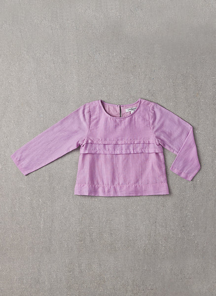 Nellystella Evelyn Shirt in Lavender Herb - N15F101 - FINAL SALE