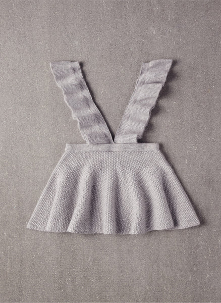Nellystella Ivy Dress in Marled Heather Grey