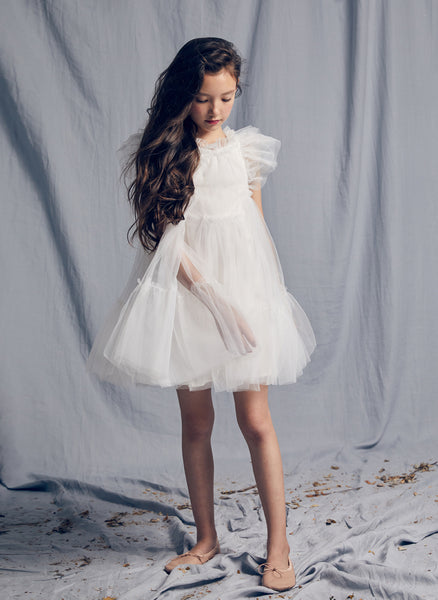 Nellystella LOVE Antoinette Dress in Bright White
