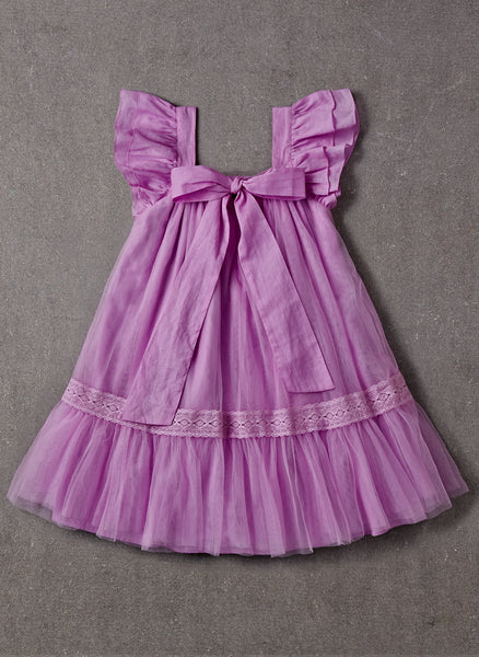 Nellystella LOVE Fiona Dress in Lavender Magenta