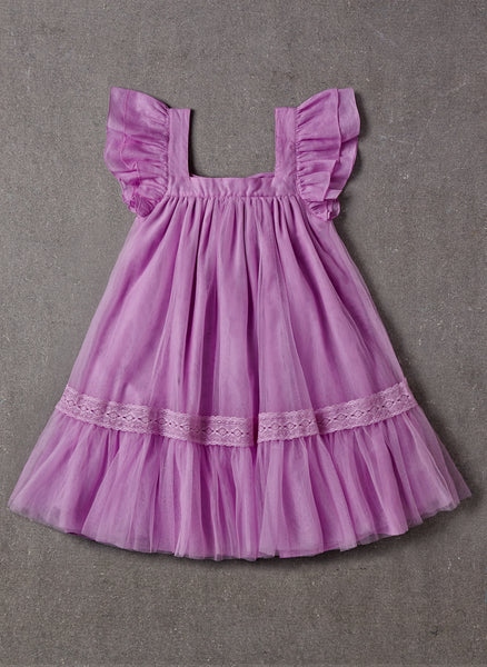 Nellystella LOVE Fiona Dress in Lavender Magenta - PRE-ORDER