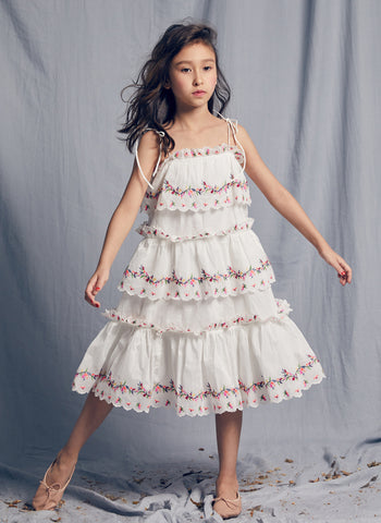 Nellystella LOVE Luna Dress in Bright White
