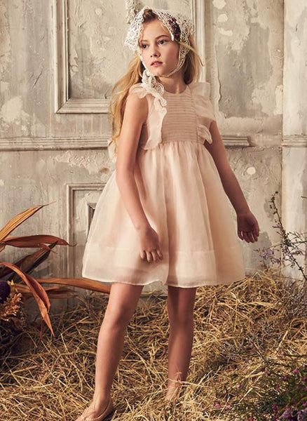 Nellystella LOVE Mae Dress in Petal Pink