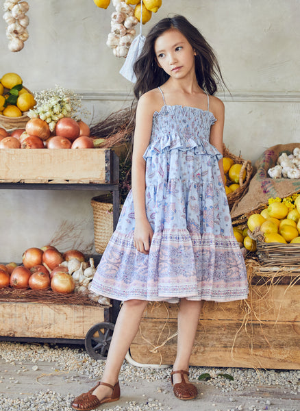 Nellystella Lola Dress in Paisley Flower