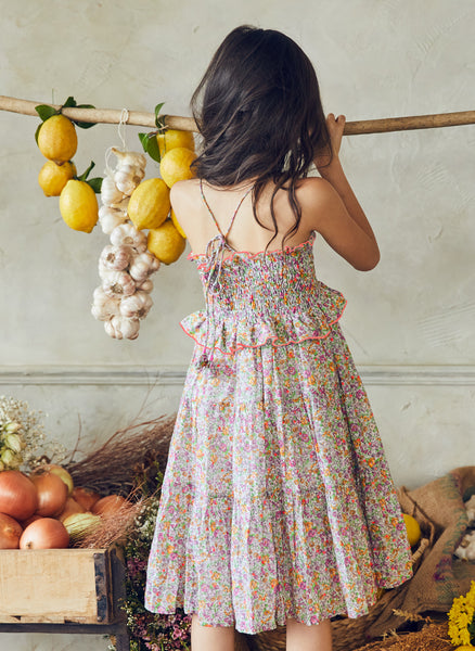 Nellystella Lola Dress in Spring Bouquet