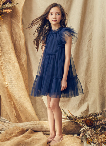 Nellystella Love Antoinette Dress in Navy