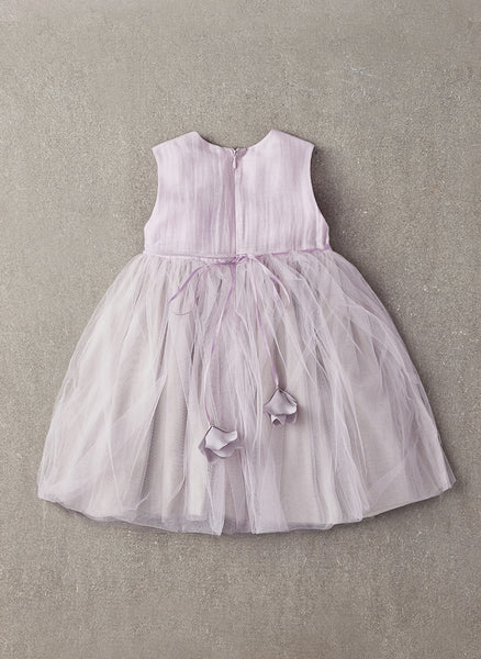 Nellystella LOVE Blossom Dress in Lavender Fog - N15F003