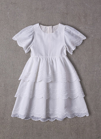 Nellystella Love Chantelle Dress Bright White
