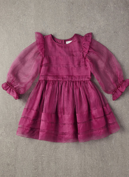 Nellystella Love Liesl Dress in Dahlia Mauve