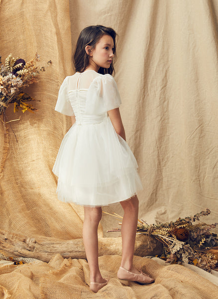 Nellystella Love Peyton Dress Bright White