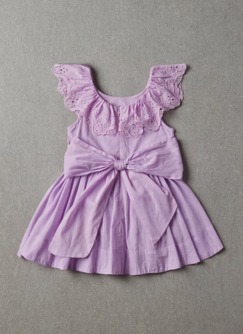Nellystella Piper Dress in Vintage Violet
