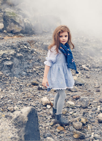 Nellystella Rae Dress in Frosty Breeze - FINAL SALE
