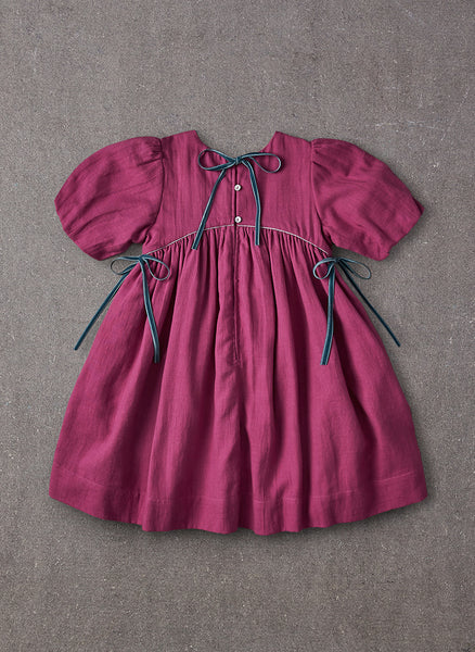 Nellystella Tabitha Dress in Plum - FINAL SALE