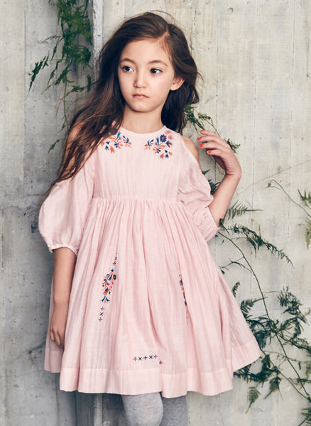Nellystella Vaness Dress in Peony Petal