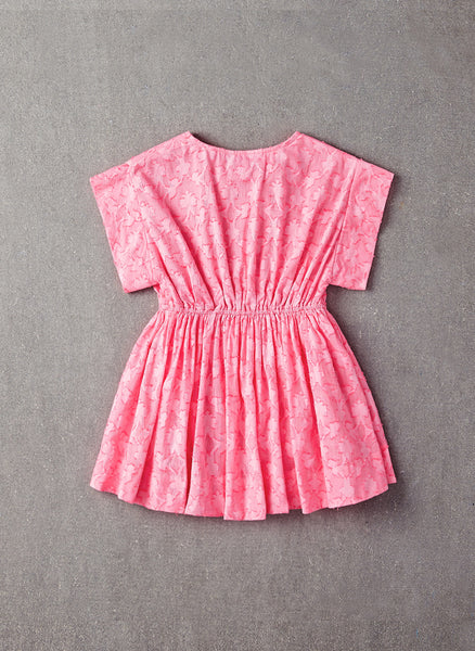 Nellystella Wren Dress in Pink Flower - N15004-PF - FINAL SALE