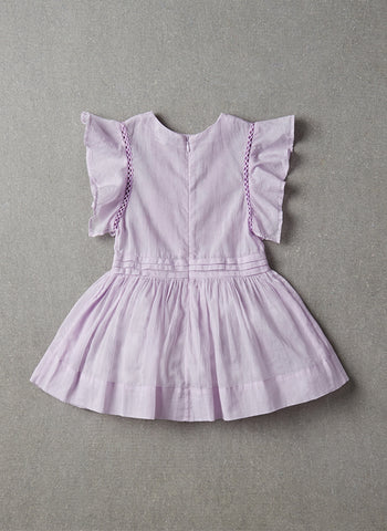 Nellystella Zoe Dress in Vintage Violet