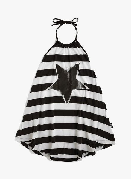 Nununu Striped Collar Dress