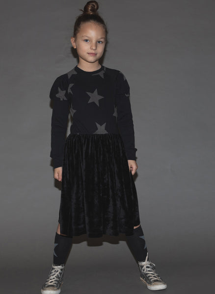 Nununu Velvet Fairtale Dress - FINAL SALE