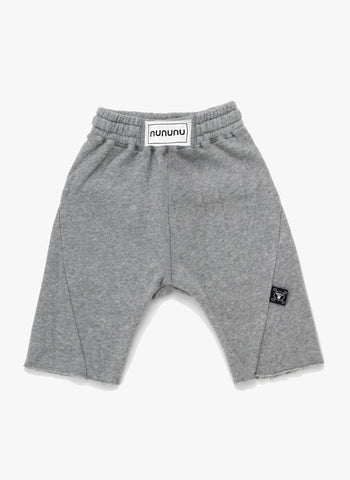 Nununu Boxing Sweatshorts in Heather Grey