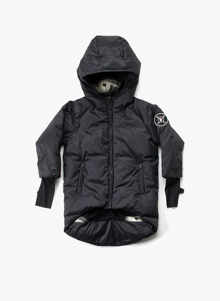 Nununu Down Coat in Black - FINAL SALE